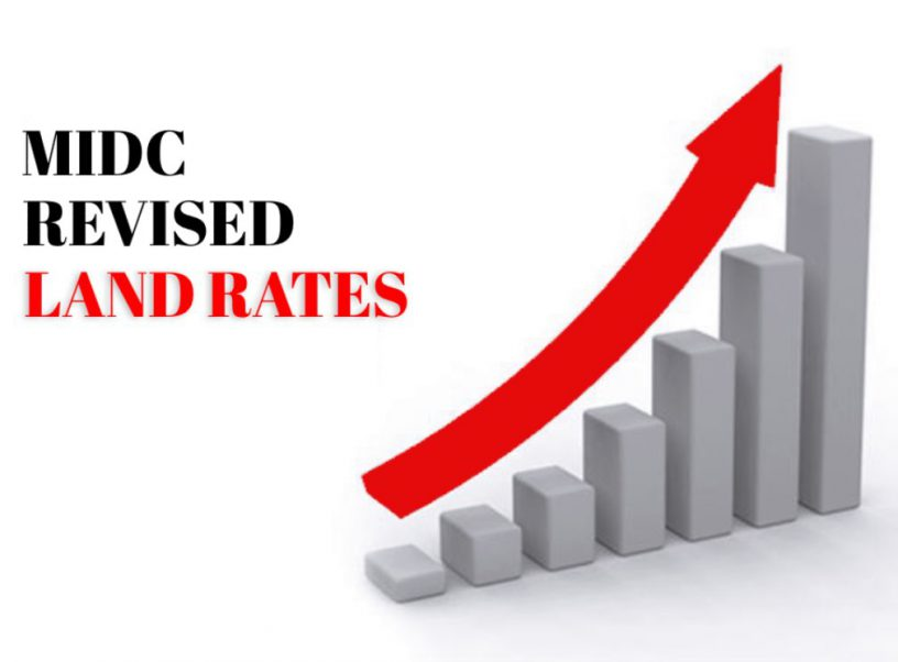 MIDC land rates