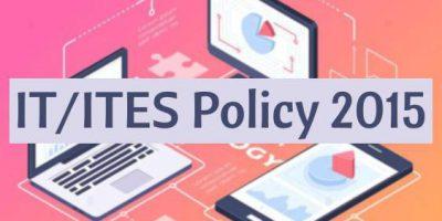 Maharashtra IT/ITES Policy 2015