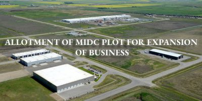 Allotment Of MIDC Plot under Expansion